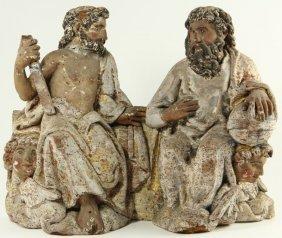 Italian Carved Religious Sculpture, 18th Century