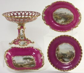Copeland And Garrett Spode Dinner Service