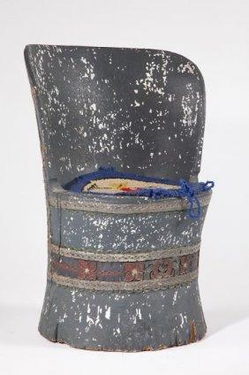 Norwegian Yew Wood Side Chair