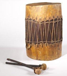 African Wood Drum