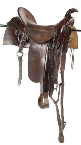 Western Style Horse Saddle