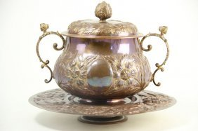Arts And Crafts Copper Tureen