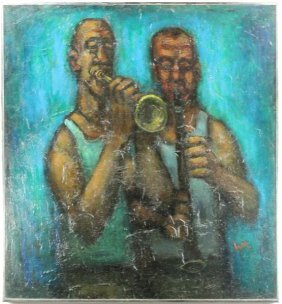 William G. Mangum (NC, B. 1924), Jazz Artists