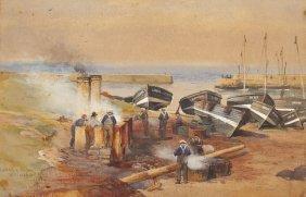 William Lockhart (Scottish, 1846-1900), Lockenzie