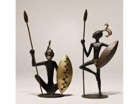 Art Deco Hagenauer Wien Austria Bronze Warrior (2)