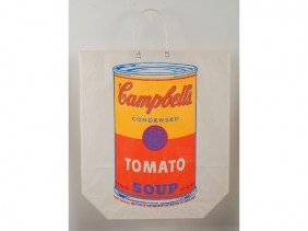 Andy Warhol 1966 Silk Screen Campbell's Soup Print