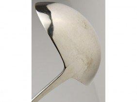 American 18C Coin Silver Philadelphia Soup Ladle