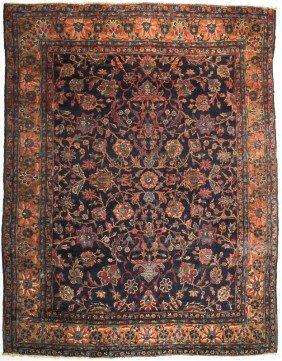 Old Persian Malayer Oriental Rug Carpet  10' X 8'