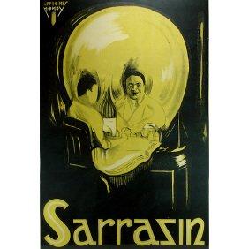Sarrazin The Magician Original 1920s Magic Poster