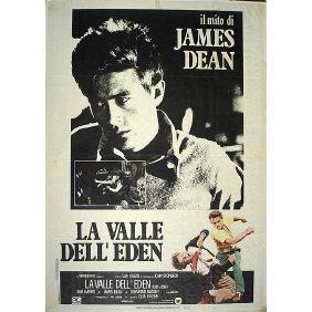 Original 1955 James Dean East Of Eden Film Poster