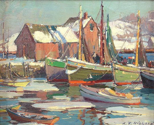 Motif No 1 Painting by A. T. Hibbard