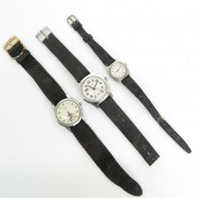 Lot Of 3 Wrist Watches