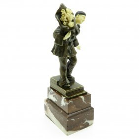 Theophile Eugene Victor Barrau Sculpture