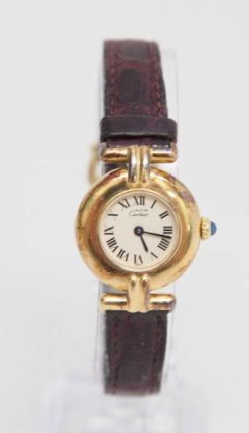 Ladies' Must De Cartier Vermeil Swiss Quartz Watch