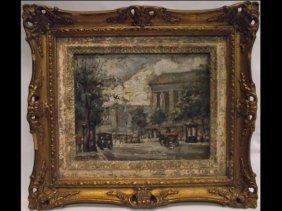 Ota Grigar Impressionist Painting