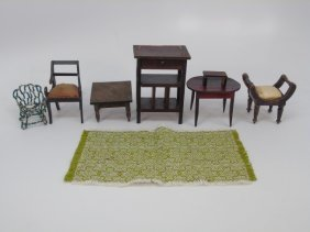 Antique / Vintage German Dollhouse Furniture