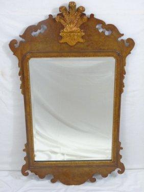 Colonial Williamsburg Queen Anne Mahogany Mirror
