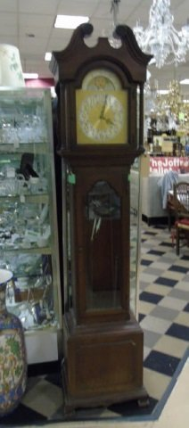 Colonial Zeeland Vintage Grandfather Clock