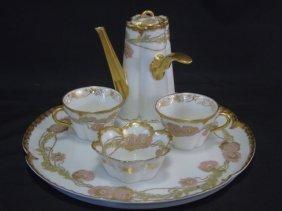 Antique Haviland Limoges Hot Chocolate Service