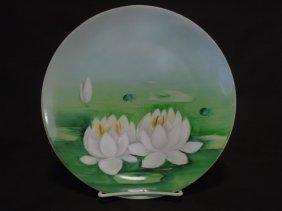 Limoges Haviland France Painted Porcelain Plate