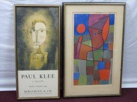 Paul Klee- Lithograph Palesio- Nua 1933
