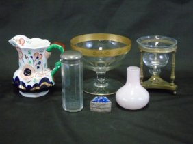 Assorted Antique & Vintage Table Articles