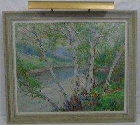 Emile A. Gruppe (american, 1896-1978) Landscape