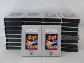 Collection Of 34 Star Trek Columbia House Videos