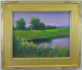 Greg Cartmell - Framed Landscape Oil Painting