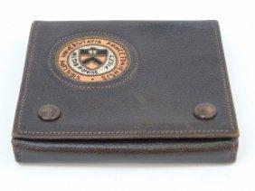 Antique Princeton University Leather Card Case