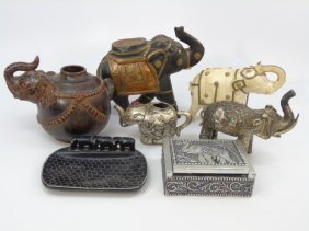 Collection Of Indian / Southeast Asian Elephants