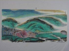Chinese Painting Marked Zheng Bai Chong