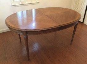 Vintage Drexel Louis Xvi Style Dining Table