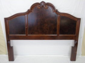 Spanish Revival Style Carved Full Size Head Board