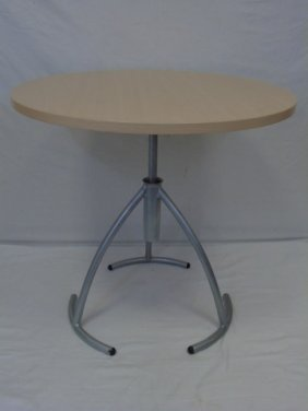 Contemporary Designer's Adjustable Height Table