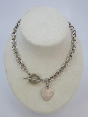 Vintage Tiffany & Co Sterling Silver Necklace