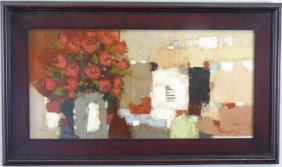Fran Klim - Contemporary Painting Of Roses