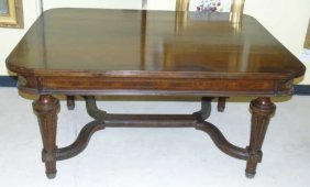Large Antique Library / Center Hall Table