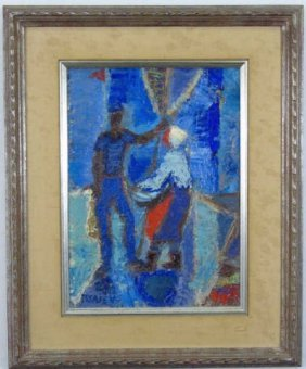 Nicolai Isaiev - Signed & Framed Oil Painting