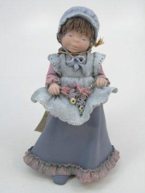 "Elisa ""sweet Girl"" Bisque Figurine"