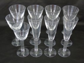 Collection Baccarat Crystal Wine Water Goblets