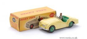 Dinky No.105 Triumph TR2 Sports Car