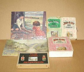 Chad Valley GWR Jigsaws