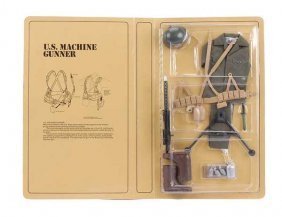 "Palitoy Action Man ""US Machine Gunner"""