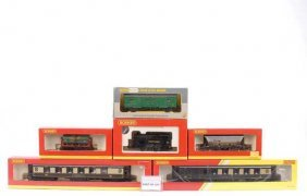 OO Gauge Loco And Rolling Stock