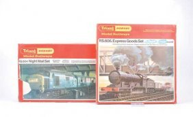 OO Gauge - 2 X Triang/Hornby Train Sets