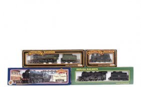 OO Gauge - A Group Of BR Steam Locos