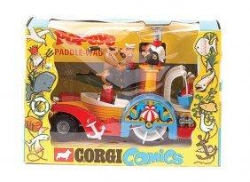 "Corgi No.802 ""Popeye's"" Paddle Wagon"