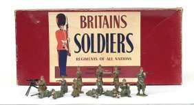 Britains-Set1383-Belgian Infantry [Post War]