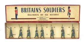 Britains-Set1435-Italian Inf - Khaki [Post War]